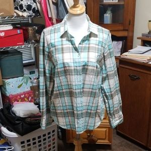Sonoma Button Down Long Sleeve Blouse